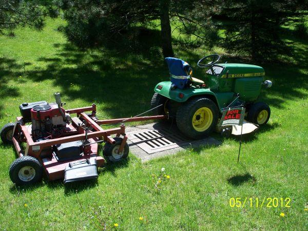 4 Sale John Deer Mower and Swisher pull behind ONEONTA, NY