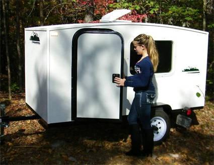 4 X 8 1 2 Person Enclosed Camper Trailer Made In The