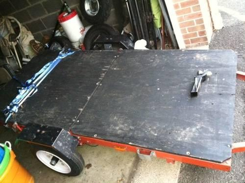 4 X 8 Open Utility Tilt Trailer SALE OR TRADE