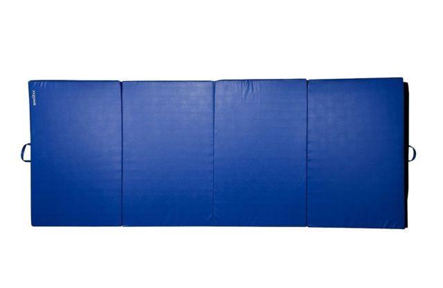 4X10X2 Folding Pu Leather Gym Tumbling Gymnastics Exercise Mat