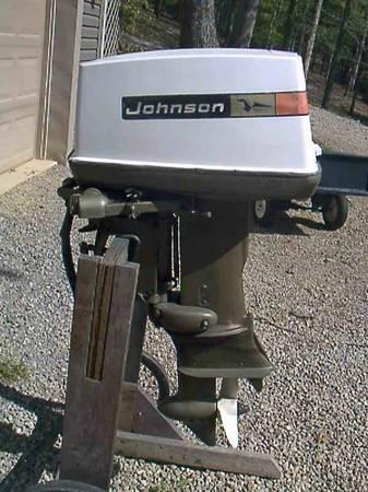 40 H P Johnson Outboard Motor For Sale In Lynx Ohio Classified