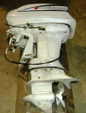 40 hp evinrude outboard boat motor off 67 boat ran 2 years for Evinrude 40 hp outboard motor for sale