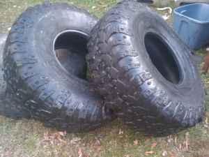 40 Inch IROK Super Swamper Tires - $135 (Huntsville)