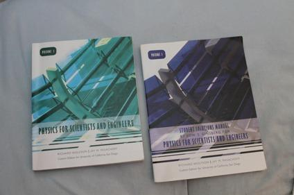 Physics for Scientists and Engineers Volume 1 and 2 (UCSD) for Sale