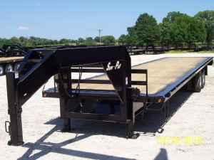 40' tandem dual float gooseneck trailer - $8500 (emory,