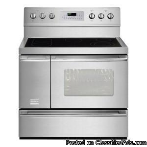 40 Quot Wide X Lg White Electric Stove Very Nice For Sale
