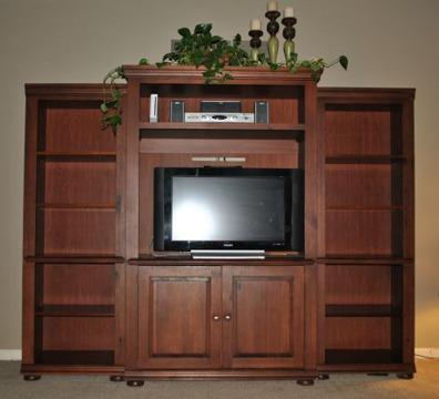 Obo Tv Media Entertainment Center Hutch Pottery Barn Style