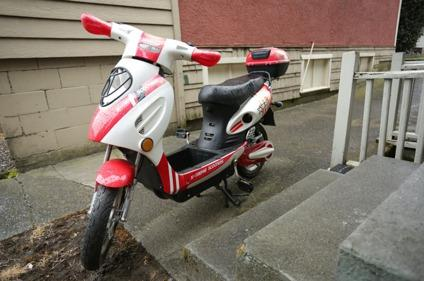 $400 OBO Xtreme Electric Bicycle Moped Scooter