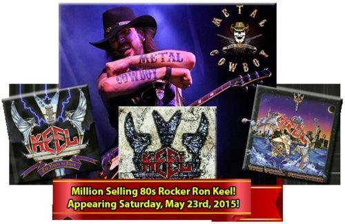 400+ Pinball/Video Games and Ron Keel Concert 5/23