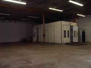 7800ft auto paint shop with paint booth northglenn