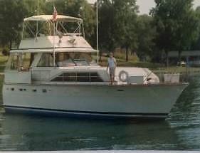 44' 1974 Trojan F-44 Flush Deck Motor Yacht