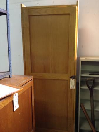 442 Section Oak Cabinet for Sale in Greenwich