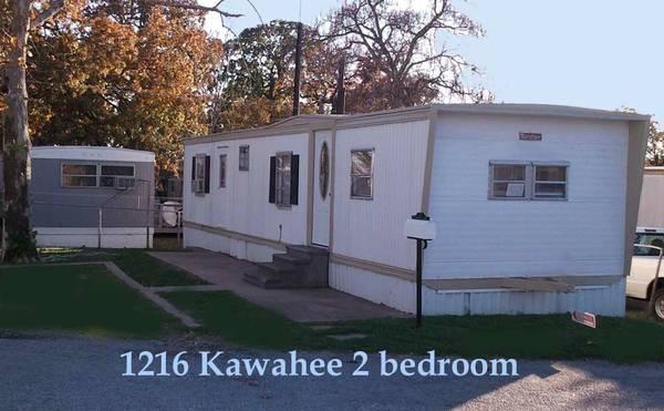 2 Bedroom 1 Bath Mobile Home For Rent In Denison