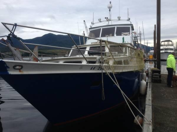 44ft cabin cruiser - $25000