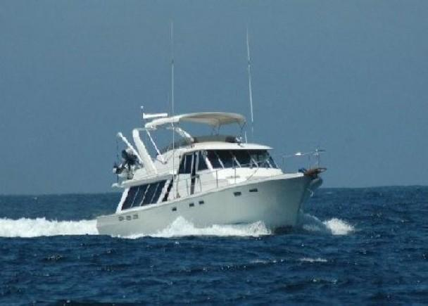 45 39 bayliner 4550 in excellent condition 1986 for sale in for Deep sea fishing marina del rey