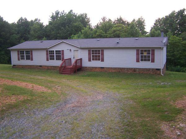 $450 3 Bedroom 2 Bath Doublewide On 10 Acres /