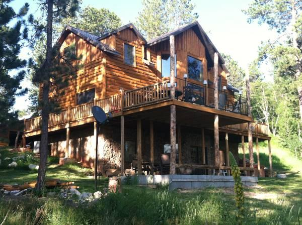 5br 3100ft dream cabin in the black hills of sd for for Cabine black hills south dakota