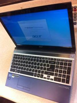 $450 Blue ultrathin Acer Laptop Core i5 640GB 6GB nVidia GT540M 8hr Battery