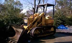 450 John Deere Crawler Loader - $8900 (Alum Bank)