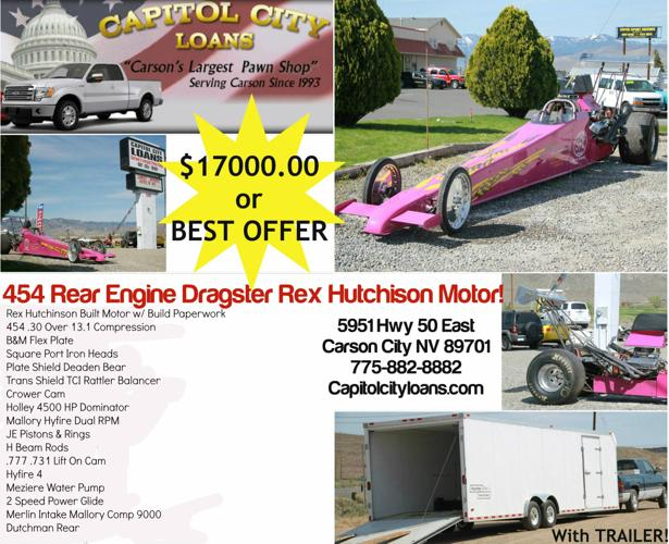 454 Rear Engine Dragster Rex Hutchison for Sale in Carson