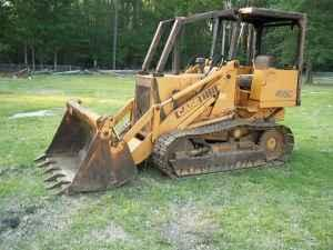 455C CASE BULLDOZER with 4 in 1 LOADER BUCKET - $7500