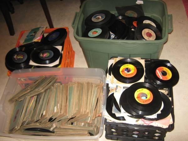 45s and 78s and 8 track Tapes 4 Sale All Genres