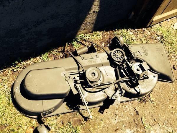 46 Inch Cut Riding Mower 3 Blade Deck For Sale In Spokane