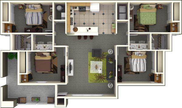 1br subletting spacious inexpensive apartment for summer 2012 players club apartments for for One bedroom apartments near fsu