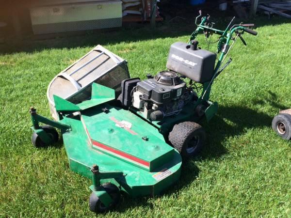 48 Bobcat Commercial Mower wBagger  Sulky - $1500