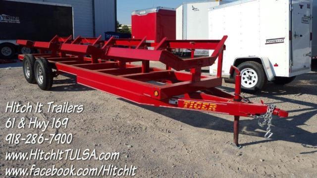 48 X 20 Tandem Axle 3500 Bale Mover Hay Hauler Hay Buggy