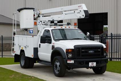$49,500 ETI ETO37IH  2008 Ford F550 Bucket Truck - Stock  12711