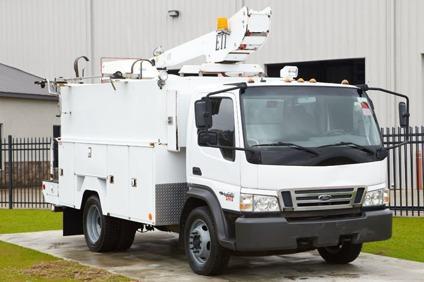 $49,900 ETI ETT29SNV  2007 Ford LCF Fiber Splicing Bucket Truck - Stock  12033