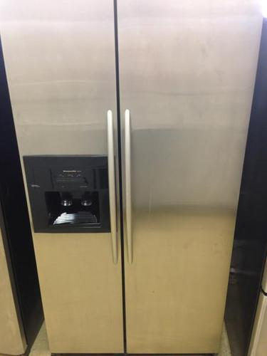 $499.99, Stainless Steel KitchenAid Side By Side