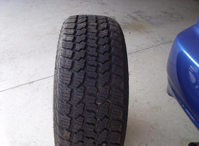 4Dean winter cat xt tires on subaru rims