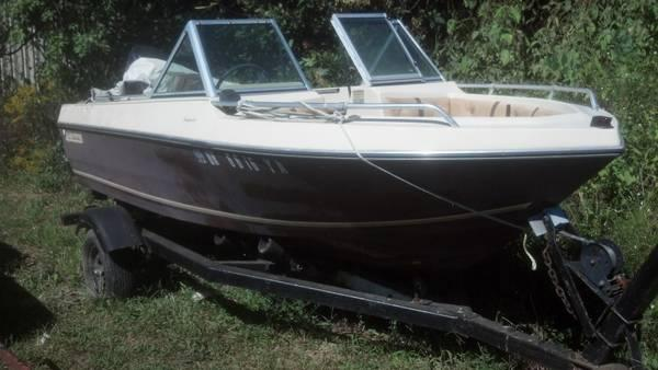 4WINNS RUN ABOUT WITH A 80HP MERCURY OUTBOARD $1400.00
