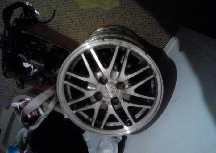 Honda Charleston Sc >> 4x100 acura integra honda civic ls mesh wheels 15 inch ...