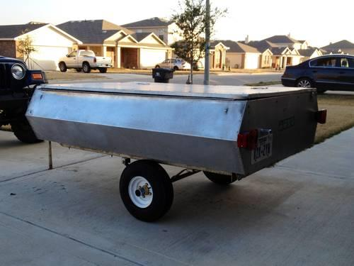 4x6 Aluminum Cargo Tent Trailer & 4x6 Aluminum Cargo Tent Trailer for Sale in Temple Texas ...