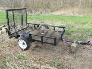 4X6 Utility Trailer - $375 (Ashland,OH)