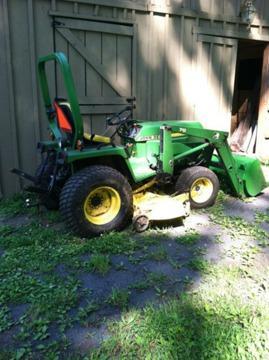 John Deere 755 4x4 Hydrostatic Tractor For Sale In