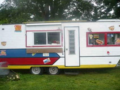 $5,300 Concession Trailer