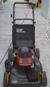 5 5 Hp Craftsman Eager 1 Self Propelled Rear Bag Lawn