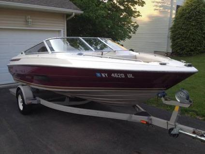 $5,500 1995 Maxum 19ft Open Bow With Trailer Great