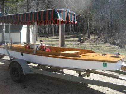 Boat with antique inboard motor for sale in park rapids for Boat motors for sale mn