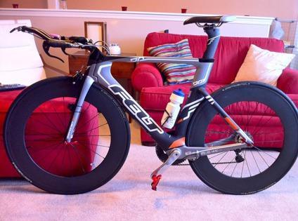 OBO 2012 Felt DA 4 Dura Ace Triathlon Bike for Sale in