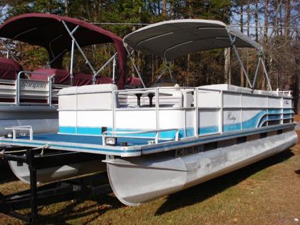 Pontoon Boat Ski Tow Bar >> Nice 1995 Harris 24' Heritage Pontoon Boat for Sale in Buford, Georgia Classified ...