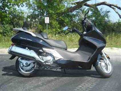 2011 honda silver wing fsc600 abs for sale in big bend wisconsin
