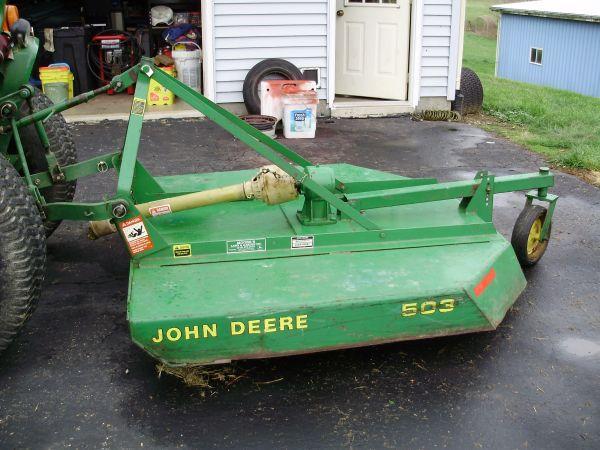 5 Ft Bush Hog John Deere Dresden Ohio For Sale In