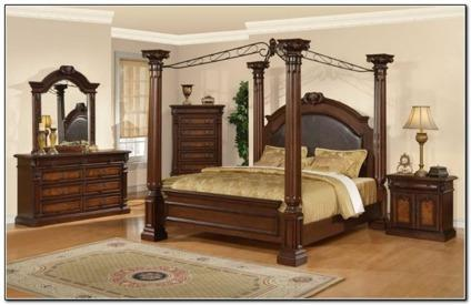 5 Piece Ashley Grand Manor Bedroom Set For Sale In Lake Mary Florida Classified
