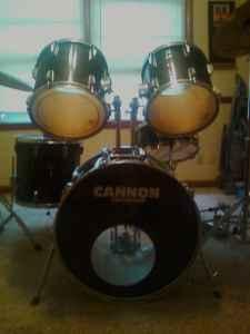 5 piece cannon drum set for sale springfield for sale in springfield missouri classified. Black Bedroom Furniture Sets. Home Design Ideas