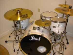 5 piece pearl exr drum set clovis for sale in lubbock texas classified. Black Bedroom Furniture Sets. Home Design Ideas